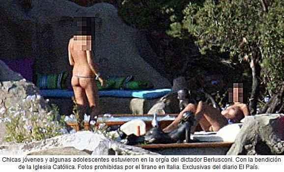 noticias Berlusconi prostitucion de menores